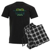 Alligators Men's Dark Pajamas
