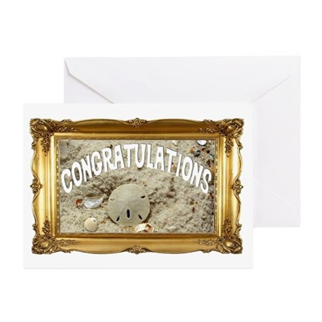 Coastal Congrats Greeting Cards (Pk of 10)