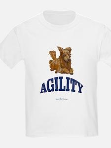 Agility Dog Kids T-Shirt