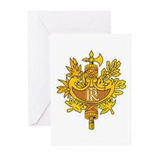 French Emblem Greeting Cards (Pk of 10)