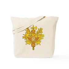 French Emblem Tote Bag
