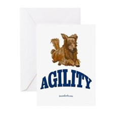 Agility Dog Greeting Cards (Pk of 10)