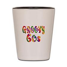 Groovy 60s Shot Glass