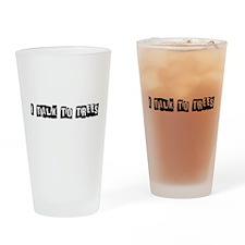 I Talk to Trees Drinking Glass
