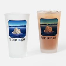 Arctic Polar Bear Drinking Glass