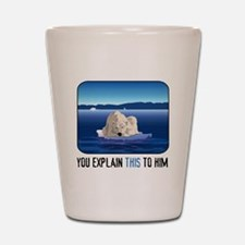 Arctic Polar Bear Shot Glass