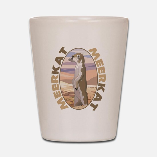 Meerkat Shot Glass