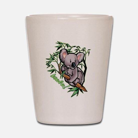 Koala! Bear Shot Glass