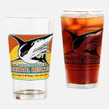 Animal Rescue Shark Drinking Glass