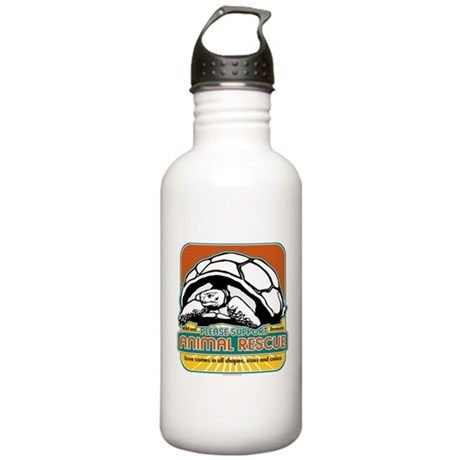 Animal Rescue Turtle Stainless Water Bottle 1.0L