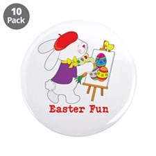 "Easter Fun 3.5"" Button (10 pack)"