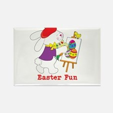 Easter Fun Rectangle Magnet (100 pack)