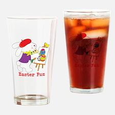 Easter Fun Drinking Glass