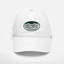 Colorful Colo License Plate Baseball Baseball Cap