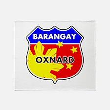 Barangay Oxnard Throw Blanket