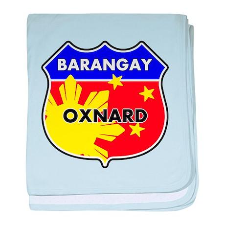 Barangay Oxnard baby blanket