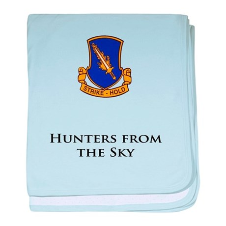 504- Hunters from the Sky baby blanket
