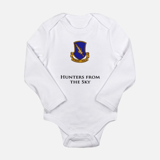 504- Hunters from the Sky Long Sleeve Infant Bodys