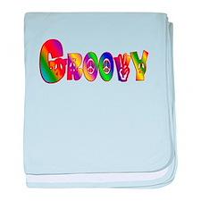 GROOVY baby blanket