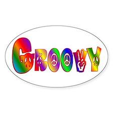 GROOVY Decal