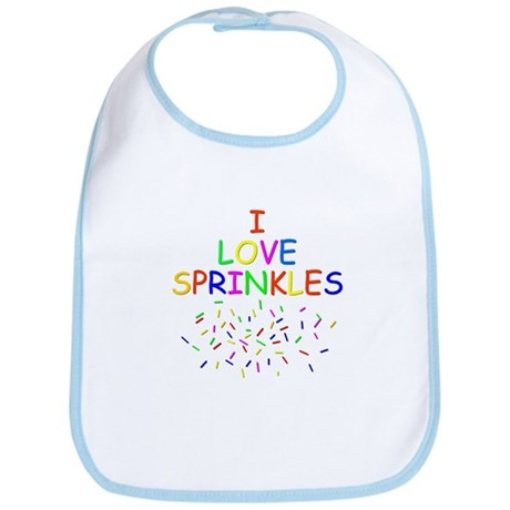 I love Sprinkles Bib