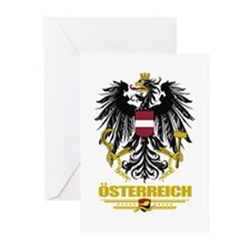 Osterreich COA Greeting Cards (Pk of 10)