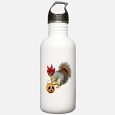 Trick or Treat Squirrel Water Bottle