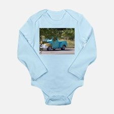 Old Truck Long Sleeve Infant Bodysuit
