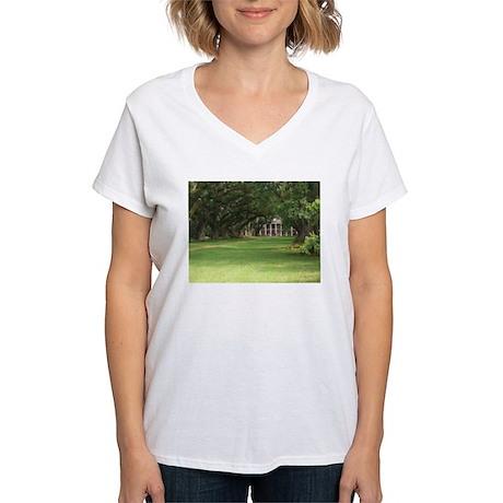 Plantation House Women's V-Neck T-Shirt