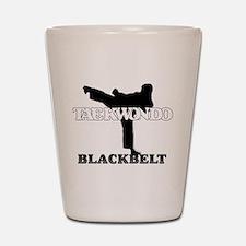 TaeKwonDo Black Belt Shot Glass