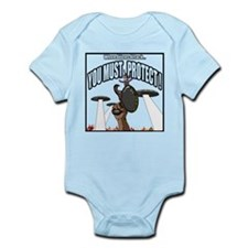 YOU MUST PROTECT! Infant Bodysuit