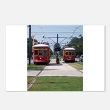 Red Streetcar Postcards (Package of 8)