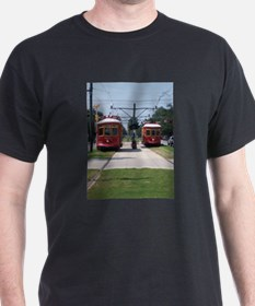Red Streetcar T-Shirt