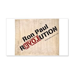 Ron Paul Constitution 22x14 Wall Peel