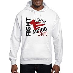 Fight Like An Aikido Girl Hoodie