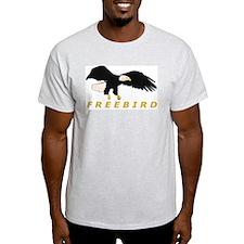 FREEBIRD Ash Grey T-Shirt