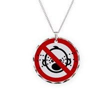 Funny NO Cry Babies Sign Necklace