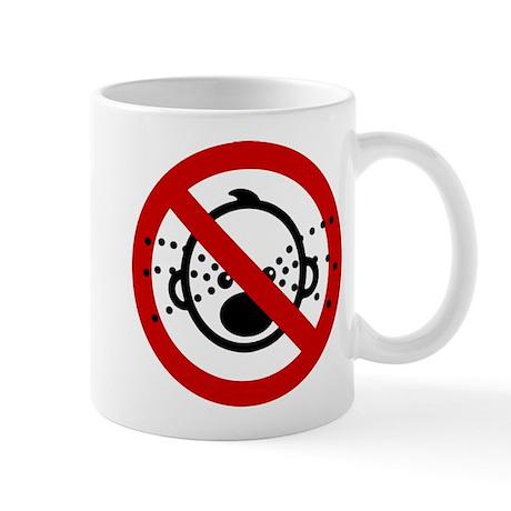 Funny NO Cry Babies Sign Mug