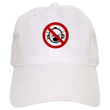 Funny NO Cry Babies Sign Baseball Cap