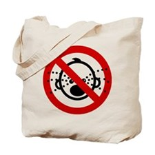 Funny NO Cry Babies Sign Tote Bag