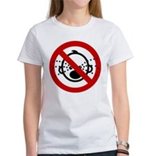 Funny NO Cry Babies Sign Tee