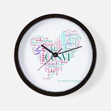 Cute Multiple sclerosis Wall Clock