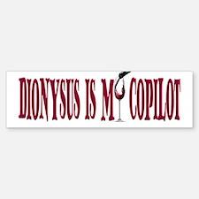 Dionysus CoPilot Bumper Bumper Sticker