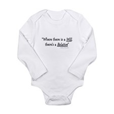Funeral Director/Mortician Long Sleeve Infant Body