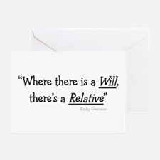 Funeral Director/Mortician Greeting Cards (Pk of 1