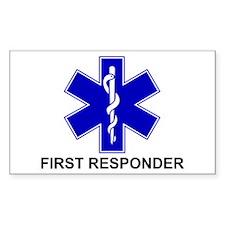 BSL - FIRST RESPONDER Bumper Stickers