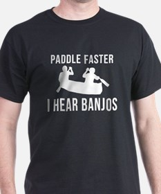 Banjo t shirts shirts tees custom banjo clothing for I hear banjos t shirt