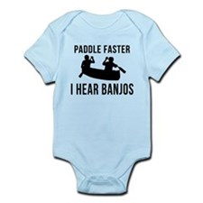 Paddle Faster I Hear Banjos Onesie