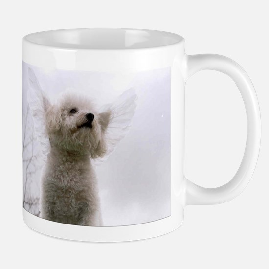 angel dog Mugs