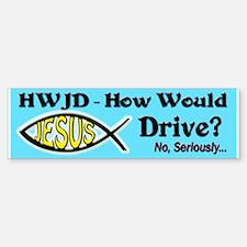 HWJD Bumper Bumper Sticker